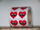 HEART KISS SMILEY FACE TANNING STICKERS TATTOOS BODY ART U-PICK AMOUNT 10-100 PC