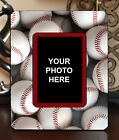 "3.5""x5"" PHOTO FRAME - BASEBALL 3 Athlete Ball Game Team Coach Sports Gift"