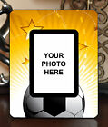 "3.5""x5"" PHOTO FRAME - SOCCER 6 Athlete Ball Game Team Coach Sports Goal Gift"