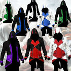 NEW Stylish Zipper Cool Slim Men's Hoodie For Assassin's Creed Cosplay Costume