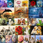 DIY 5D Diamond Embroidery Painting Cross Stitch Kit Flower Animal Home Deco