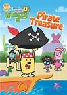 Wow Wow Wubbzy - Pirate Treasure (DVD, 2009) in plastic case with artwork,  Nick