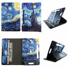 """tablet case for 10 inch cover universal 10""""cases rotating stand cash card slots"""