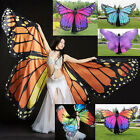 2017 Butterfly Belly Dance Costume 360° Wings Egyptian Dance Wear For Adult Kids