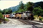 Original Kodachrome Slide: Norfolk Southern/SBD Patch Job SD50-2 Action  1990