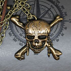 USA Pirates of the Caribbean: Dead Men Tell No Tales Skull Necklace Keychain New