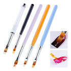 Gradient UV Gel Painting Drawing Pen Brush Rhinestone  Nail Art Tools