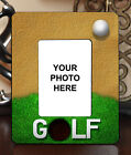 "3.5""x5"" PHOTO FRAME - GOLF 4 Golfer Swing Par Athlete Ball Game Sports Gift"
