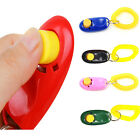 New Animal Pet Click Clicker Training Obedience Agility Trainer Aid Wrist Strap