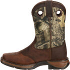DBT0120 Lil' Durango Youth Camo Saddle Western Boot NEW