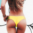 Women's Brazilian Cheeky Bikini Bottom Swimwear Beach Suit T-Back G-String Thong