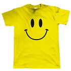 Smiley Face, Mens Retro Acid Rave House DJ T Shirt