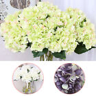 Decor Hydrangea Heads Wedding decoration Party Flower Silk FlowerBunch Floral