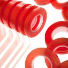 High Tack - Red Liner Tape - Double Sided - Assorted Widths - Very Strong
