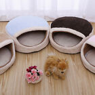 Warm Cat Dog Kitten Cave Pet Bed House Puppy Sleeping Mat Igloo Nest Kennel