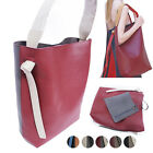 CELEBRITY STYLE TWIST COLORBLOCK TOTE SHOULDER BAG PURSE REAL COWHIDE LEATHER