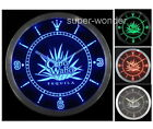"""Neon Time Clock 10"""" Cabo Wabo Lighted Sign LED Wall measure art instrument day"""