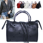 CELEBRITY MOTORCYCLE OUT PUNCHING MINI CITY SHOULDER BAG REAL LAMBSKIN LEATHER