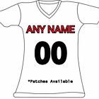 Women's Customized Tampa Bay Buccaneers Football Jersey Personalized Embroidered