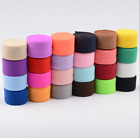 Внешний вид - 2cm Flat Bias Binding Tape Elastic Stretch Cord clothing Sewing Braided Tape