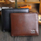 Men Bifold Business Leather Wallet ID Credit Card Holder Purse Pockets fad new