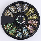 3D Nail Art Rhinestones Glitters Beads Acrylic Tips Decorations Wheels Manicure