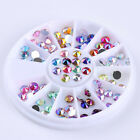 3D Nail Art Rhinestones Glitters Beads Acrylic Tips Decoration Manicure Wheels <br/> 19700+ sold ! Fashion Decorations !