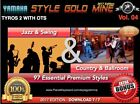 97 NEW SUPER STYLES Swing Jazz & Country BallRoom Yamaha Tyros 2 Only ED° 2017
