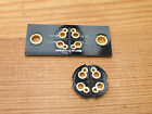One new TANNOY 4 pin Gold plated speaker plug socket Silver Red Gold HPD cable