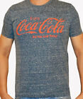 Mens Branded Coca Cola Classic Large Printed Cola T Shirt Cotton Top Size S-XXL £3.99  on eBay