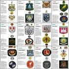 LEAGUE Football Review magazine Club Badge picture poster - VARIOUS