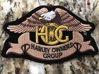 Harley Davidson Harley Owners Group Patch Vest Jacket Patch Eagle HOG