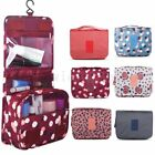 Toiletry Makeup Bags Wash Travel Carry Large Folding Hanging Zipper Organizer