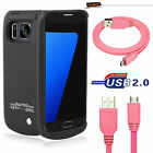 NEW POWERFUL BATTERY CASE FULL CURVED GLASS SCREEN For Samsung Galaxy S7/S7 Edge