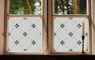 Etched Glass Window Film FROSTED EFFECT floral geometric