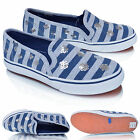 Girls Kids Slip On Canvas Plimsolls Pumps Trainers Casual Sports Shoes UK Size