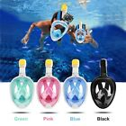 180°view Panoramic full face Snorkel Mask with anti-fog anti-leak snorkeling Des