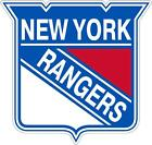 New York Rangers NHL Color Die Cut Decal Car Sticker Choose
