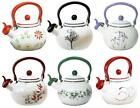 CORELLE 2 Qt. WHISTLING TEA KETTLE Steel STOVETOP Safe *Choose Your Pattern NEW