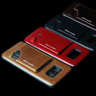 Pierre Cardin Leather Phone Back Cover With Card Soft For Samsung S8/S8 Plus