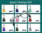 GUITAR IMAGE GLASS/PHONE CLEANING CLOTH PERSONALISED FREE OF CHARGE MUSIC
