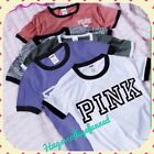 Summer Women Casual Short Sleeve Loose T-shirt Letter Print Graphic Tee Tops Hot