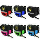 Road Bike Seat Saddle Bag Waterproof Cycle Tail Rear Pouch Bags Biker Accessorie
