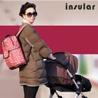 Baby Designer Diaper Bag Large capacity Multi-function Nappy Bag Set For