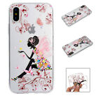 Fashion Cute Pattern Ultra Thin Soft TPU Back Case Cover For iPhone 8 7 Plus 6s