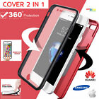 Custodia per HUAWEI SAMSUNG IPHONE Cover Fronte Retro 360° Full Body Silicone