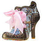 Irregular Choice Abigail's 3rd Party Womens Shoes Gold New Shoes