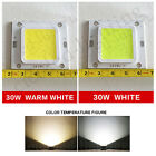 30W LED SMD Chip Bulbs Beads High Power for Floodlight Lamp White Warm Lighting