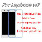 3pcs For lephone W7 Anti Scratch Matte,Anti Blue Ray Screen Protector
