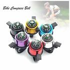 Cycling Bicycle MTB Loud Speaker Bike Bell Ring Alarm And Compass Metal 6 Colors